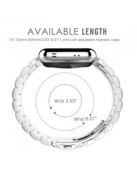 Bransoleta do Apple Watch 42/44mm TECH-PROTECT Stainless -srebrna - zdjęcie 3