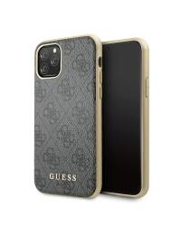 Etui do iPhone 11 Pro Guess 4G Charms Collection - szary  - zdjęcie 7