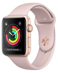 Apple Watch Series 3 42 mm Złoty - zdjęcie 1