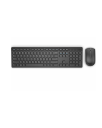 Klawiatura Dell Wireless Keyboard and Mouse - KM636 - US Intl Black - zdjęcie 1