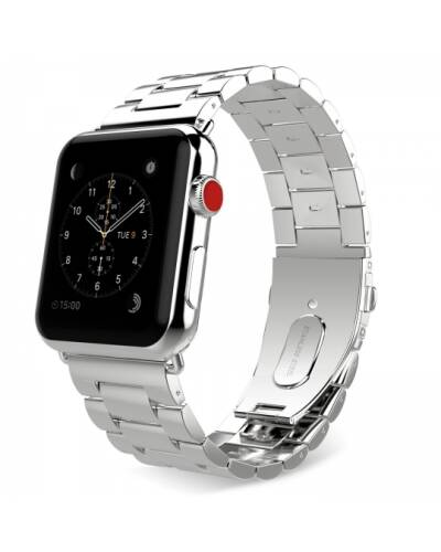 Bransoleta do Apple Watch 42/44mm TECH-PROTECT Stainless -srebrna - zdjęcie 1