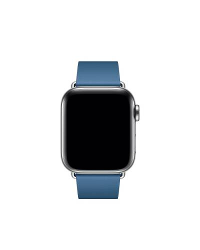 Pasek do Apple Watch 38/40mm Apple Modern Buckle (M) - błękitny - zdjęcie 2