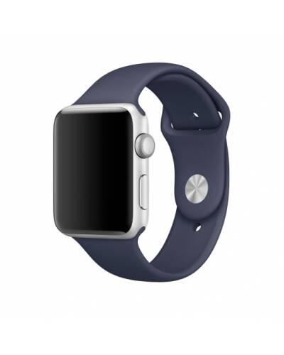 Bransoleta do Apple Watch 42/44mm TECH-PROTECT Smoothband - granatowa - zdjęcie 1