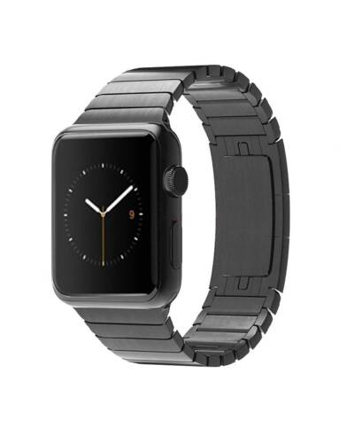 Bransoleta do Apple Watch 42/44mm TECH-POTECT Linkband - czarna - zdjęcie 1