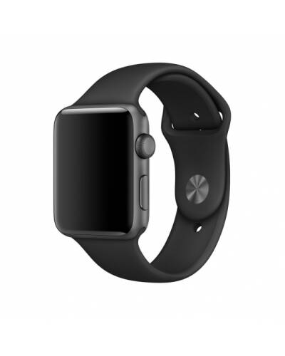 Bransoleta do Apple Watch 42/44mm TECH-PROTECT Smoothband - czarna - zdjęcie 1