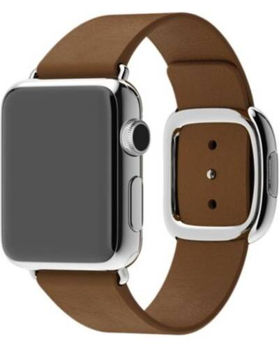 Pasek do Apple Watch 38/40mm Apple Modern Buckle (S) - brązowy - zdjęcie 1