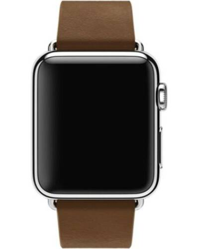 Pasek do Apple Watch 38/40mm Apple Modern Buckle (S) - brązowy - zdjęcie 4