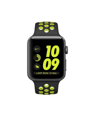 Pasek do Apple Watch 42/44mm TECH-PROTECT Softband - czarno-zielony - zdjęcie 2