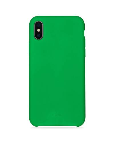 PURO ICON Cover - Etui iPhone X (zielony) Limited edition - zdjęcie 1