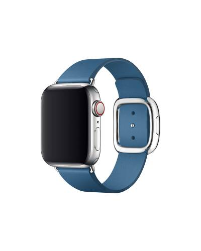 Pasek do Apple Watch 38/40mm Apple Modern Buckle (M) - błękitny - zdjęcie 1