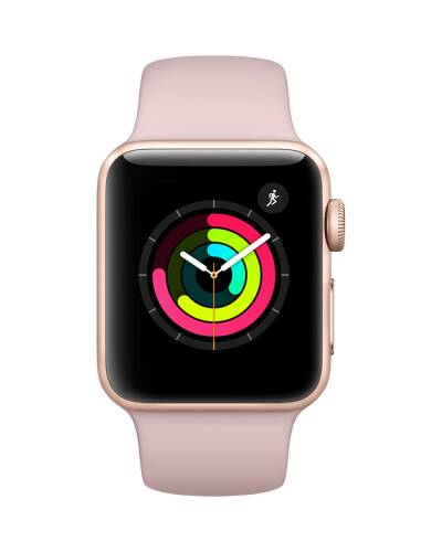 Apple Watch Series 3 42 mm Złoty - zdjęcie 3