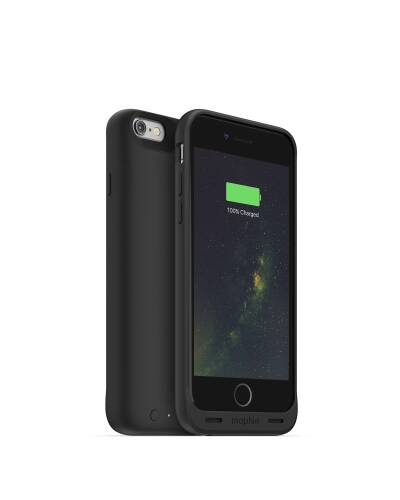 Mophie Juice Pack Wireless etui do iPhone 6/6s czarny - zdjęcie 1