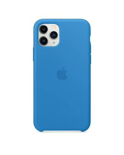 Etui do iPhone 11 Pro Apple Silicone Case błękitna fala - zdjęcie 1