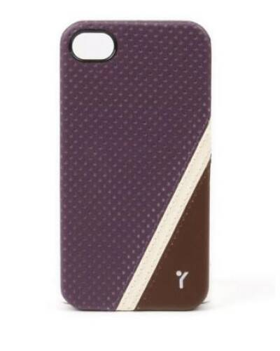 The Joy Factory Cheer 4.1 CAB114 Etui do iPhone 4/4S  fioletowe - zdjęcie 1