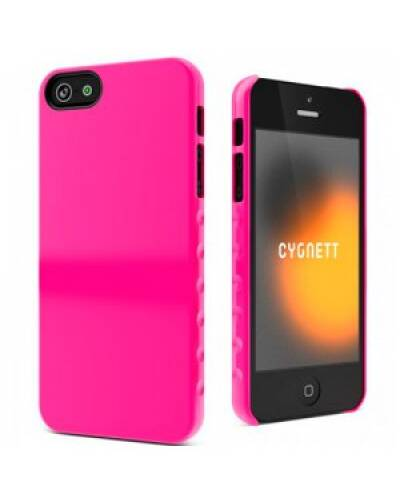 CYGNETT Pink Form Slim Hard etui do iPhone 5S/ SE - zdjęcie 1
