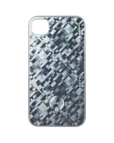 Etui do iPhone 4/4s Ozaki iCoat Success Fame - srebrne - zdjęcie 1