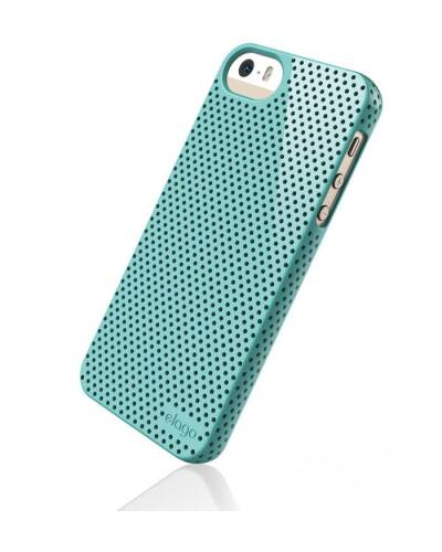 Etui do iPhone 5/5S Elago S5 Breath Case Coral Blue - zdjęcie 1