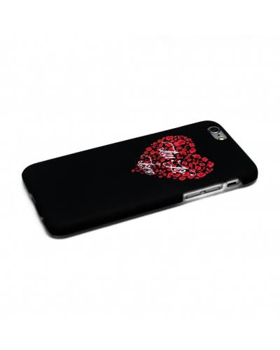 Etui do iPhone 5/5S/SE Liu Jo Black Heart Hard Case - czarne - zdjęcie 1